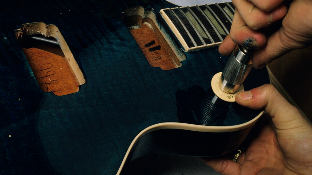 Construction-of-eclipse-guitar
